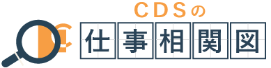 CDSの仕事相関図
